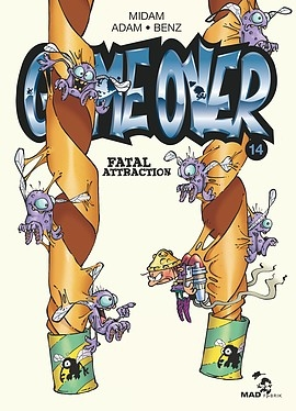 Couverture Game over, tome 14 : Fatal Attraction
