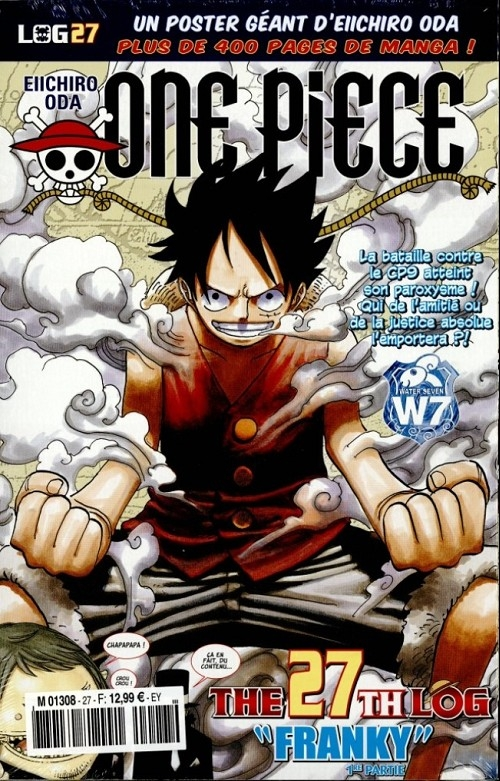 Couverture One Piece, Log, tome 27