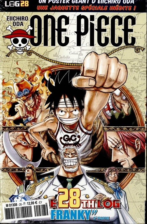 Couverture One Piece, Log, tome 28