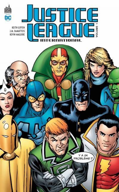 Couverture Justice league international, tome 1
