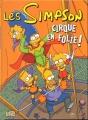Couverture Les Simpson Cirque en folie ! Editions Jungle ! 2010