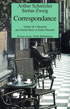 Couverture Correspondance - Arthur Schnitzler et Stefan Zweig