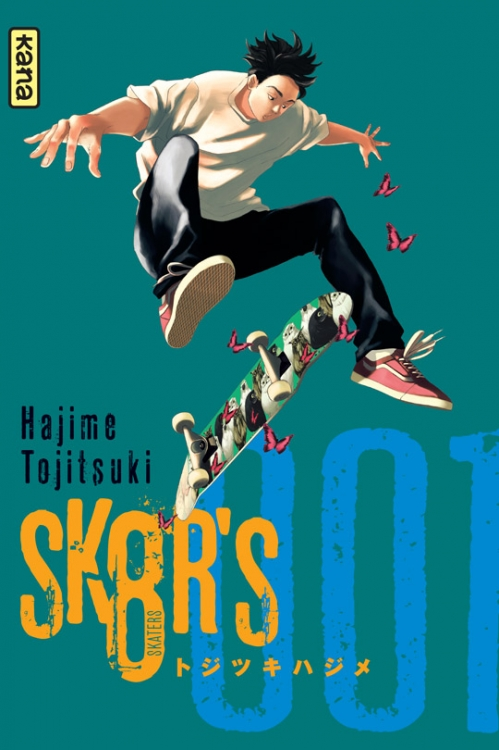Couverture sk8r's, tome 1