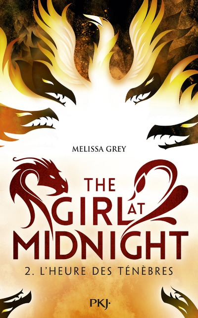 Couverture The girl at midnight, tome 2 : L' heure des ténèbres