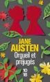 Couverture Orgueil et préjugés Editions 10/18 2016