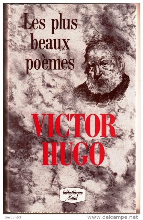 Couverture Les plus beaux poèmes de Victor Hugo