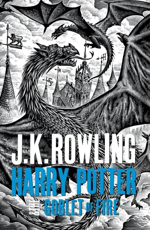 Harry Potter Books White Cover : Harry potter tome et la coupe de feu