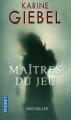 Couverture Maîtres du jeu Editions Pocket 2013