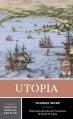 Couverture L'utopie Editions W. W. Norton & Company (A Norton Critical Edition) 2010