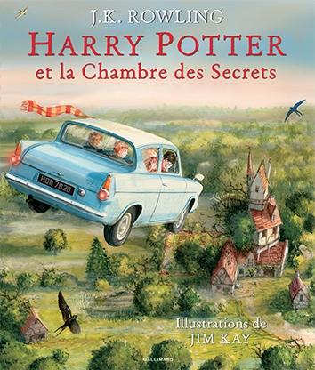 Couverture Harry Potter, illustré, tome 2 : Harry Potter et la chambre des secrets