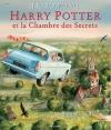 Couverture Harry Potter, illustré, tome 2 : Harry Potter et la chambre des secrets Editions Gallimard  2016