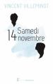 Couverture Samedi 14 novembre Editions Sarbacane (Exprim') 2016