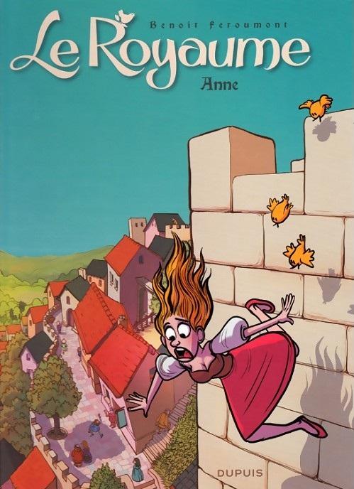 Couverture Le Royaume (BD), tome 1 : Anne