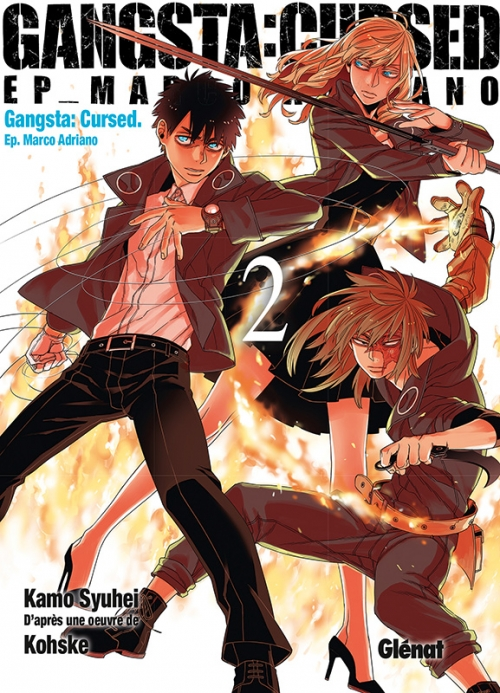 Couverture Gangsta : Cursed, Ep. Marco Adriano, tome 2