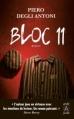 Couverture Bloc 11 Editions Archipoche 2016