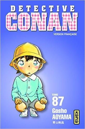 Couverture Détective Conan, tome 87