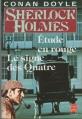Couverture Une étude en rouge, Le signe des quatre / Une étude en rouge suivi de Le signe des quatre Editions Le Livre de Poche 1990