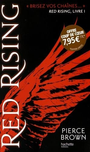 Couverture Red rising, tome 1