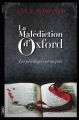 Couverture La Malédiction d'Oxford Editions Michel Lafon 2016