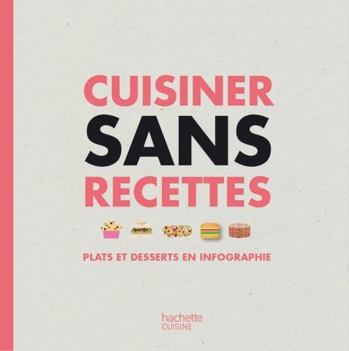 Couverture Cuisiner sans recettes : plats et desserts en infographie