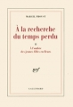 Couverture À l'ombre des jeunes filles en fleurs Editions Gallimard  (Blanche) 1992