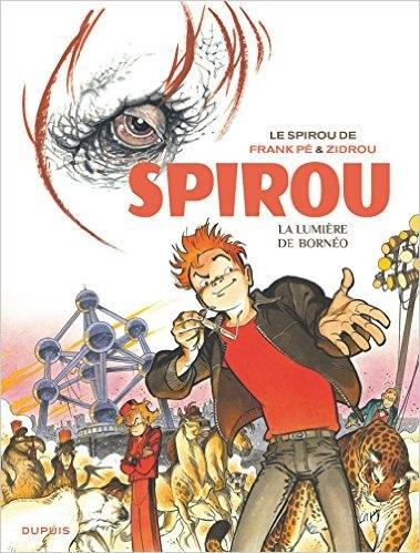 Couverture Une aventure de Spirou et Fantasio par..., tome 10 : La lumière de Bornéo