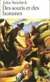 Couverture Des souris et des hommes Editions Folio  2005