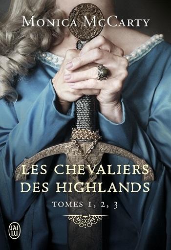 Couverture Les chevaliers des Highlands, intégrale, tomes 1, 2 et 3