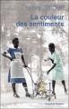 Couverture La couleur des sentiments Editions Jacqueline Chambon 2010