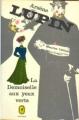 Couverture La demoiselle aux yeux verts Editions Le Livre de Poche (Policier) 1972
