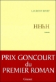 Couverture HHhH Editions Grasset 2010