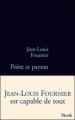 Couverture Poète et paysan Editions Stock (La Bleue) 2010