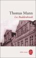 Couverture Les Buddenbrook Editions Le Livre de Poche (Biblio roman) 1993