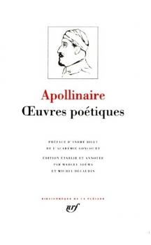 Couverture Apollinaire : Oeuvres poétiques complètes