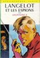 Couverture Langelot et les espions Editions Hachette (Bibliothèque verte) 1974
