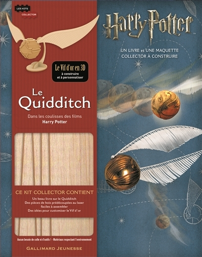 Couverture Dans les coulisses des films Harry Potter : Le quidditch