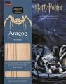 Couverture Dans les coulisses des films Harry Potter : Aragog Editions Gallimard  (Jeunesse) 2016