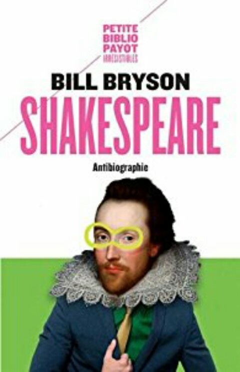 Couverture Shakespeare : Antibiographie