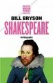 Couverture Shakespeare : Antibiographie Editions Payot (Petite bibliothèque - Irrésistibles) 2016
