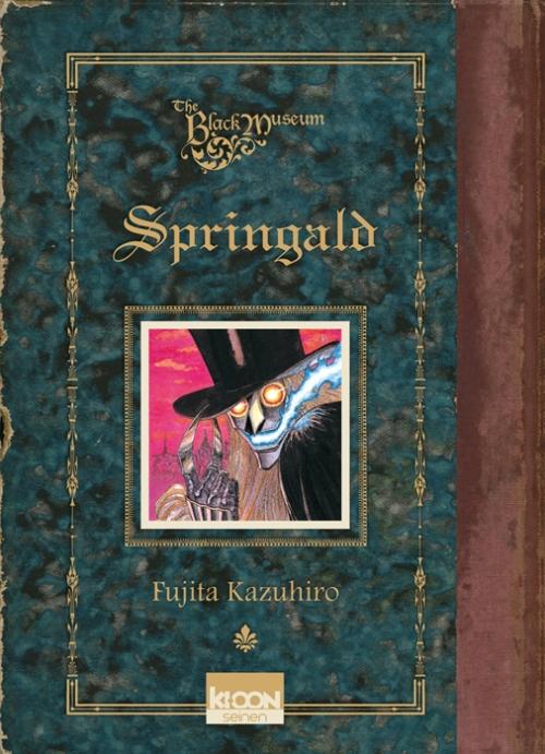 Couverture Springald, tome 1