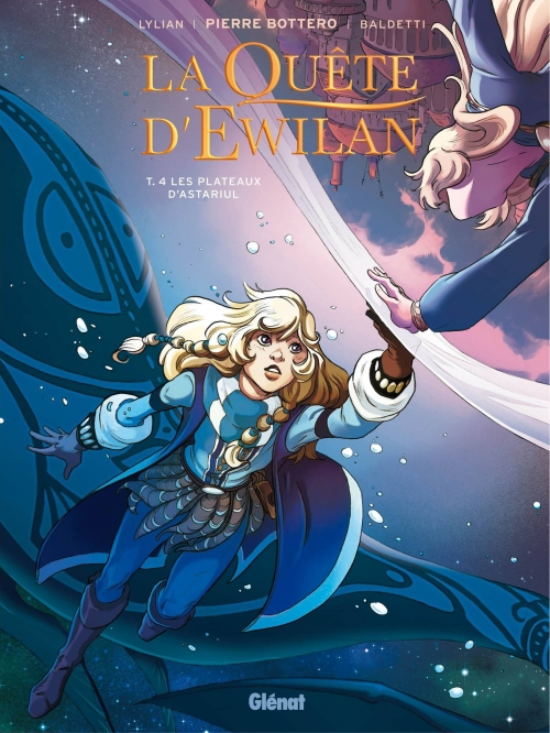 Couverture La Quête d'Ewilan (BD), tome 4 : Les plateaux d'Astariul