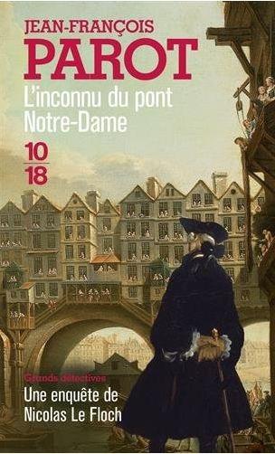 Couverture L'inconnu du pont Notre-Dame