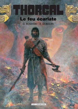 Couverture Thorgal, tome 35 : Le feu écarlate