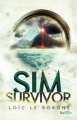 Couverture Sim survivor Editions Scrineo 2016