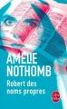 Couverture Robert des noms propres Editions Le Livre de Poche 2015