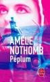 Couverture Péplum Editions Le Livre de Poche 2016