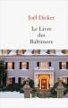 Couverture Le Livre des Baltimore Editions France Loisirs 2016