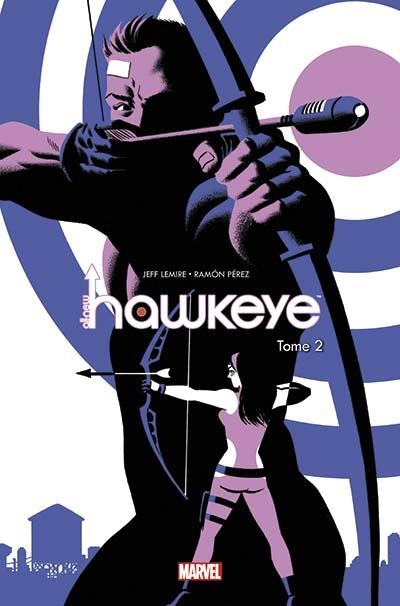 Couverture All-New Hawkeye, tome 2 : Les Hawkeye