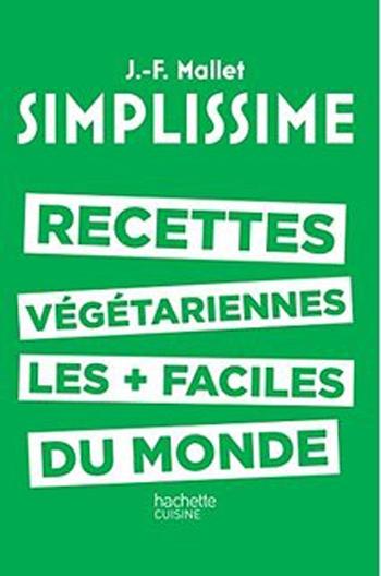 Couverture Simplissime : Recettes végétariennes les + faciles du monde