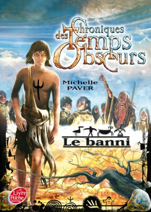Couverture Chroniques des Temps Obscurs, tome 4 : Le Banni